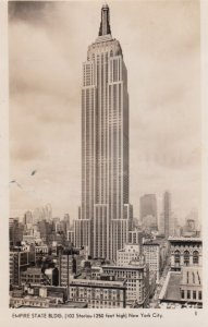 RP: NEW YORK CITY , 1942 ; Empire State Building