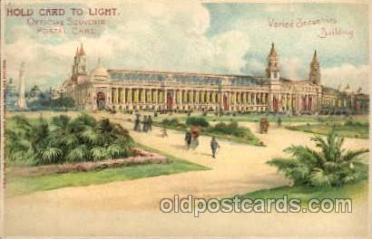 Hold To Light, Official Souvenier, St. Louis World's Fair Exposition 1904, Po...