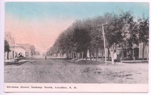 Cavalier ND Division Dirt Street Store Fronts 1910 Postcard