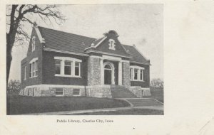 CHARLES CITY , Iowa, 1901-07 ; Public Library