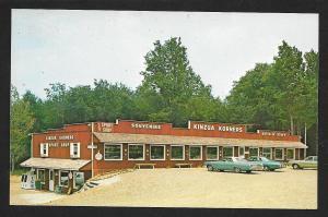 Kinzua Korners Souvenirs Western PA Unused c1960s