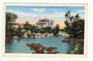 The A.T. Lloyd Estate,Highland Park,Dallas,Texas,30-40s