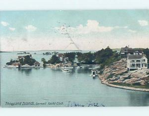 Pre-1907 WATER SCENE Thousand Islands New York NY A0784