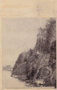 WASHINGTON, PU-1911; Castle Rock on the Cowlitz River, showing the Lion's Head