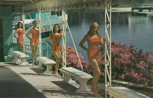 WEEKI WACHEE SPRING , Florida, 1950-60s  ; The Mermaid Girls