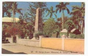 Sir George Somers Memorial, St George's, Bermuda,PU 1961