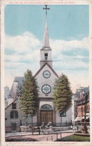 Canada Quebec Church Of Notre-Dame 1921