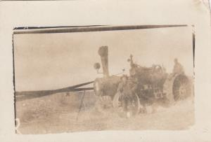 RP: SWIFT CURRENT , Sask., Canada , 00-10s ; Tractor in field