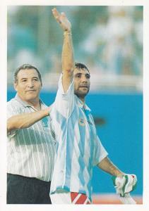 Hristo Stoichkov Bulgaria International Football Player Postcard