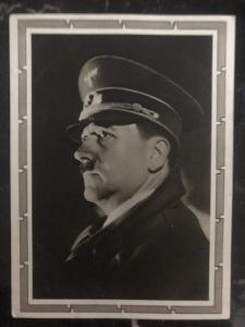 1939 Berlin Germany Real picture Postcard RPPC cover the fuhrer Hitler portrait