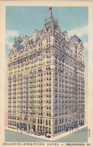 Bellevue-Stratford Hotel, PHILADELPHIA, Pennsylvania, 1930-1940s