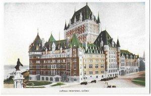 Chateau Frontenac Hotel Quebec Canada
