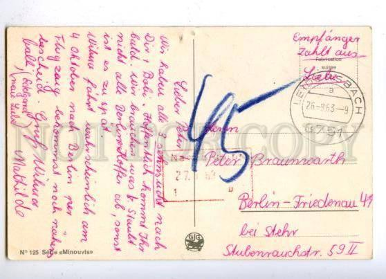 176784 Rural BELLE Woman & COW Vintage COMIC postcard