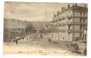 Valence  , France , Avenue Gambetta , PU-1902