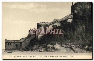 Old Postcard Mont Saint Michel The North Tower and Loop Tour