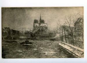 247398 FRANCE PARIS TEN CATE Notre-Dame Vintage postcard
