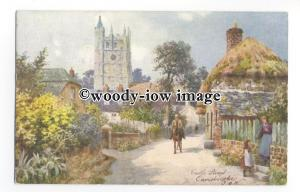 h1564 - Isle of Wight - Castle Street, Carisbrooke by Wimbush- Postcard - Tuck's