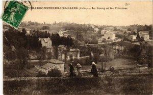 CPA CHARBONNIERES-les-BAINS Le BOURG et les Poisieres (461466)