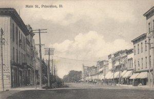 PRINCETON , Illinois , 1900-10s ; Main Street #2