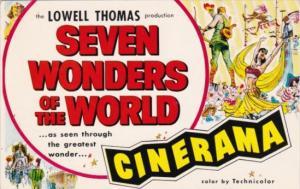 Seven Wonders Of The World Melba Theatre Dallas Texas 1957