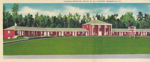 Bi-fold, Colonial Motor Inn, on U.S. 29, U.S. 70 Bypass, Thamasville North Ca...