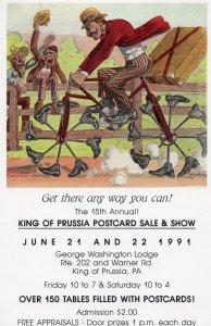 11189 King of Prussia Postcard Show - 1991