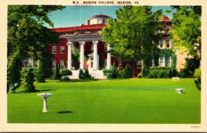 Virginia Marion View Of Marion College