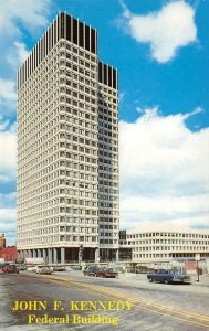 John F. Kennedy Federal Building, Boston, MA c1960s Vintage Postcard
