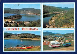 Czech R. Orlicka Prehrada Popeliky Solenice Auto Camping Lake