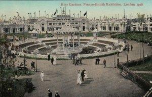 LONDON , England , 1908 ; Elite Gardens, Franco-British Exhibition