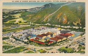 BURBANK , California, 1930-40s ; Warner Brothers Studios