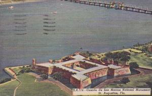 Florida Saint Augustine Castillo De San Marcos National Monument 1949