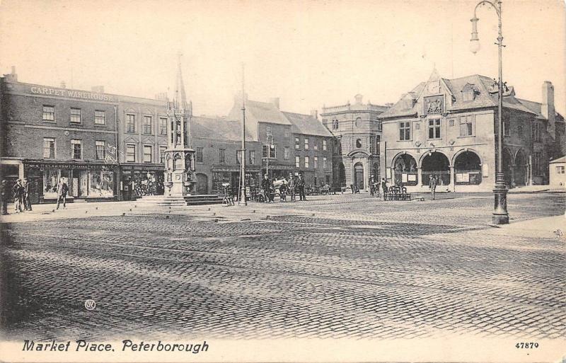 BR64509 market place peterborough   uk