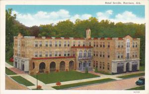 Arkansas Harrison Hotel Seville Curteich