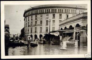 mexico TAMPICO Edificio la Luz, Hurricane Hilda 1955 RP