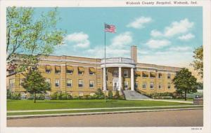 Indiana Wabash County Hospital Curteich