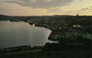 ST JOHN's, Newfoundland, Canada, 1950-60s ; At Dusk