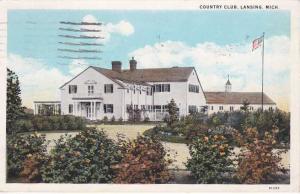 Country Club at Lansing MI, Michigan - pm 1931 - WB