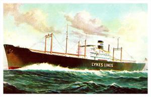 16019   Cargo Ship   Lykes Bros. Steamship Co. Inc
