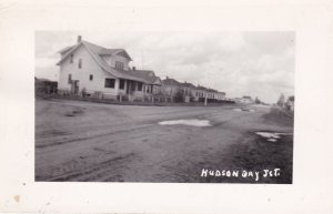 RP; Hudson Bay Jct., Saskatchewan , Canada , 00-10s Main Street (dirt)