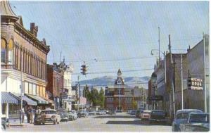 Street Scene Dillon Montana MT