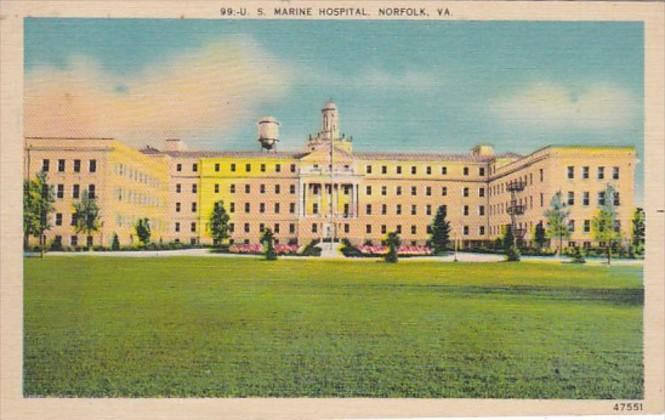 Virginia Norfolk U S Marine Hospital