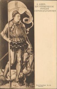 A Durer der Nurnbergische Patrizier Stephan Baumgartner art