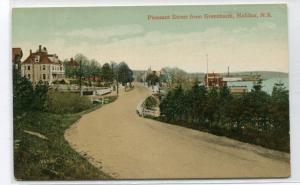 Pleasant Street From Greenbank Halifax Nova Scotia Canada 1910c postcard