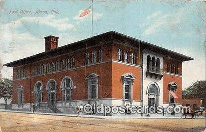 Post Office Akron, OH, USA 1910