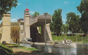 World Famous Hydraulic Lift Lock,  Peterborough,  Ontario,  Canada,  40-60s