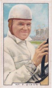 Freddie Dixon RAC Tourist Trophy Motor Car Racing 1930s Cigarette Card