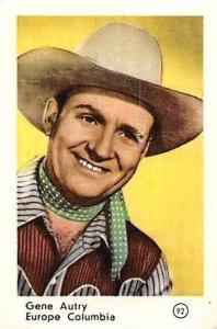 Movie Actor Gene Autry Europe Columbia, wester, cowboy