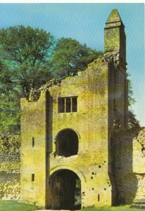 Dorset Postcard - Sherborne Old Castle - South West Gatehouse - Ref TZ4984