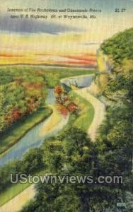 Junction of the Roubidoux in Waynesville, Missouri